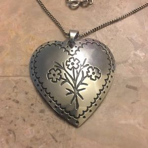 James Avery Sterling silver necklace and pendant